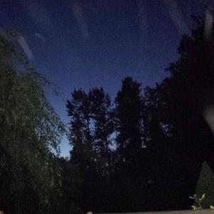 Solstice sky.