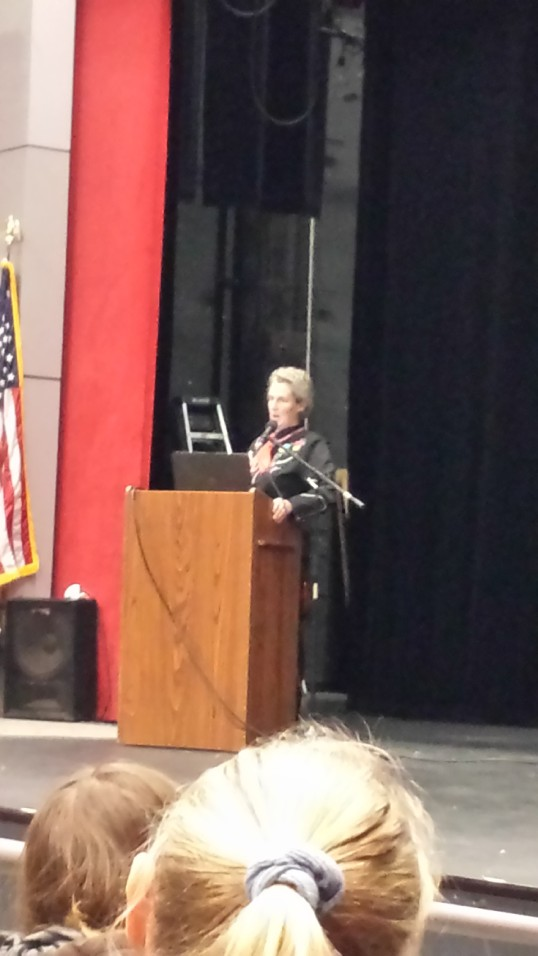 Temple Grandin at Cattlemen's Winterschool and Country Living Expo - a great talk!