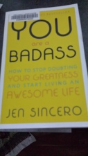 She is a badass; I'm reading books to learn how to be more like her!