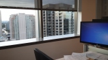 The window to the right of my desk (looking west).